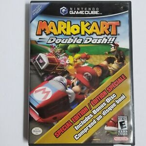 Mario Kart: Double Dash (Nintendo GameCube) Tested Working Special Edition Bonus