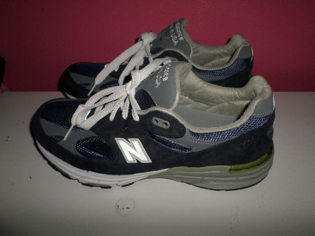 MUST SEE FABULOUS NEW BALANCE 993 WR993NV RUNNING SHOES WOMEN 11 B