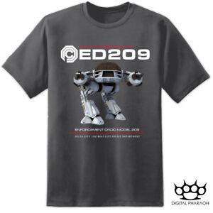 ae5a9f070 Mens ED209 Robocop OCP T Shirt Omni Consumer Products Movie Weyland ...