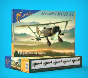 GasPatch Models 1 48 Henschel Hs-123 A1