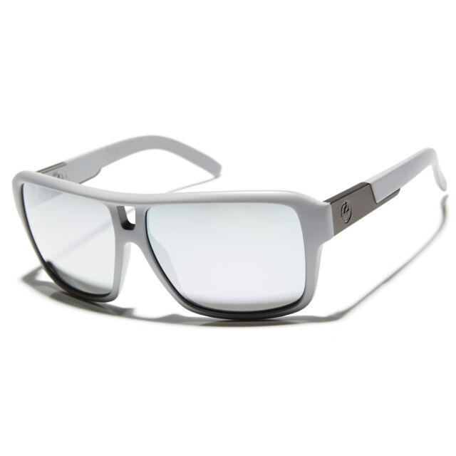 New Dragon The Jam Sunglasses Grey Matter/Pearl Ionized Lens 720-2220 RRP $180