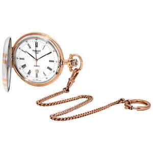 Tissot-T-Pocket-White-Dial-Men-039-s-Watch-T862-410-29-013-00