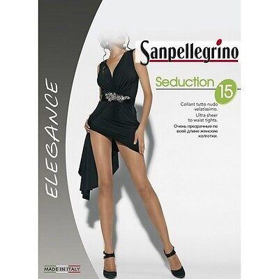 Sanpellegrino Calze Collant Seduction 15 Colore Nero Taglia 3