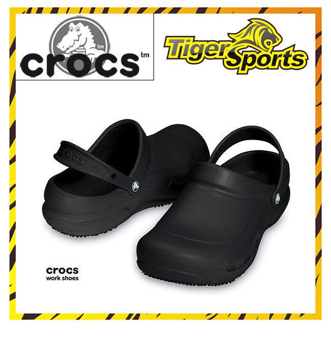 Crocs - Bistro - Arbeitsschuhe - Schwarz Clogs BI1 - NEU - Größen: 36 - 48