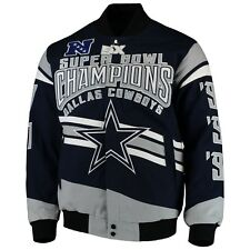 cheap for discount deb2a 63d37 Dallas Cowboys 5 Times Super Bowl Championship Twill Jacket ...