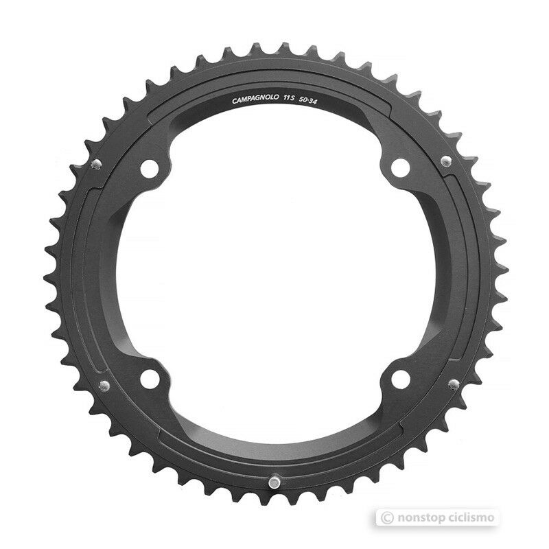 Campagnolo SUPER RECORD 4-Arm 11 Speed Outer Chainring   50T FC-SR350