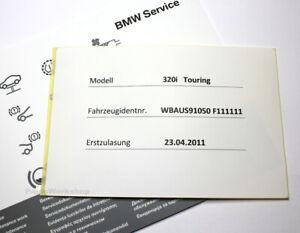 Original-BMW-Serviceheft-Aufkleber-E-F-1er-3er-5er-6er-7er-X1-X3-X5-E72-Z4-E8