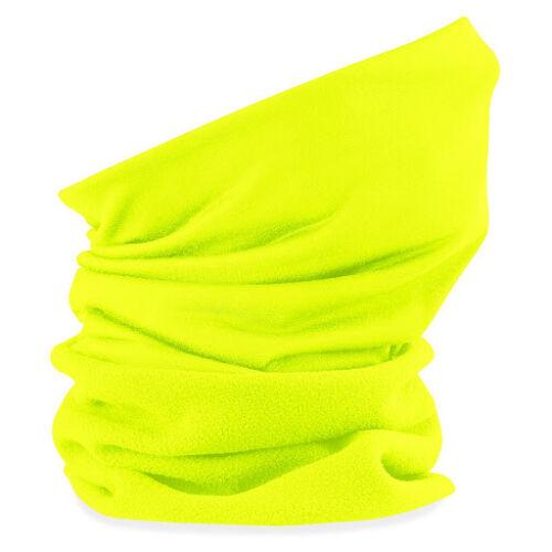 Beechfield Morf Suprafleece 53//62cm Fluorescent Yellow Neck warmer Fleece B920