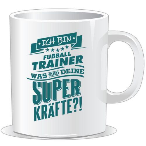 petro.. Superpower Fussball Trainer getshirts RAHMENLOS® Geschenke Tasse