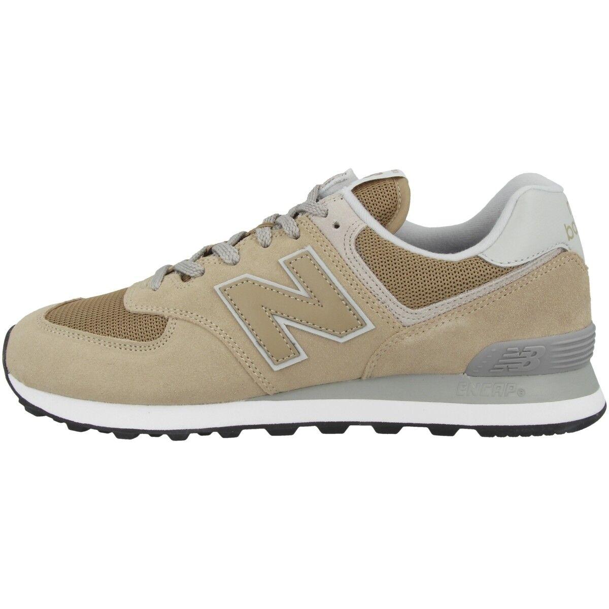 Zapatos promocionales para hombres y mujeres New Balance ML 574 EBE Schuhe Freizeit Sport Sneaker Turnschuhe hemp ML574EBE