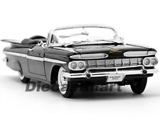 YAT MING 1:18 1959 CHEVY IMPALA CONVERTIBLE DIECAST BLACK 1 OF 600