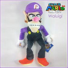 "Waluigi Nintendo Super Mario Bros World Plush Toy Stuffed Animal Figure 11"""""