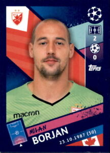 Topps Champions League 18//19 Sticker 564 Milan Borjan