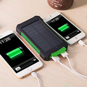 UK-50000mAh-Solar-Power-Bank-Waterproof-2USB-LED-Battery-Charger-For-Cell-Phone