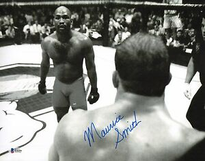 Maurice Smith Signed 11x14 Photo BAS Beckett COA UFC 14 Champ Picture Autograph