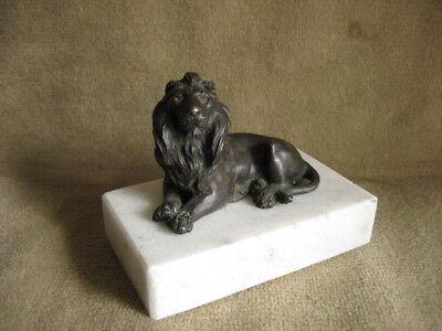 Figur Löwe Bronze Bronze