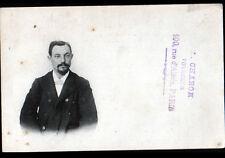 PARIS (XIV°) Portrait de A. CHARON Voyageur , 100 Rue d'ALESIA