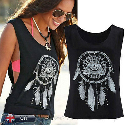 New Summer Sexy Women Ladies Crop Tank Top Vest Sleeveless Casual T Shirt Blouse