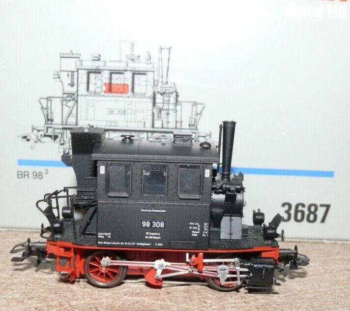 K23 marklin 3687 Tenderlok vetro riquadro BR 98 308 DB DIGITAL