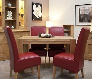 Image Is Loading Romano Solid Oak Furniture Small Dining Table And