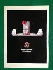 (AB5) Pubblicità Advertising Ads Werbung CHIVAS REGAL 12 YEARS SCOTCH WHISKY