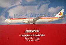 Hogan Wings 1:400 Airbus A340-600  Iberia EC-JCY + Herpa Wings Katalogs