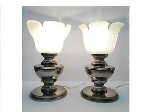 Set di lampade da tavolo scrivania anni vintage classico ebay