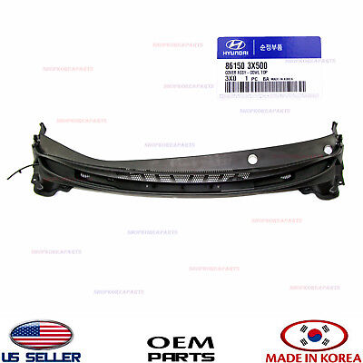 Top Left Genuine Hyundai 86150-2D101 Cowl Cover Assembly