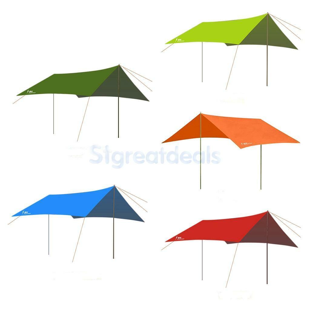 Heavy Duty Aguaproof Tent Cámping Fishing Rain  Cover Tarp Awning Canopy Shelter  Centro comercial profesional integrado en línea.