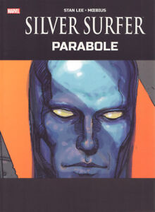 MOEBIUS SILVER SURFER PARABLE EXCLUSIVE TABLOID HARDCOVER HC STAN LEE