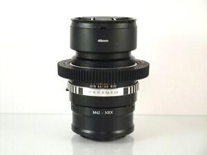 Tessar-Carl-Zeiss-Jena-F-2-8-m42-DSLR-SLR-Adapter-Sony-E-NEX-Alpha