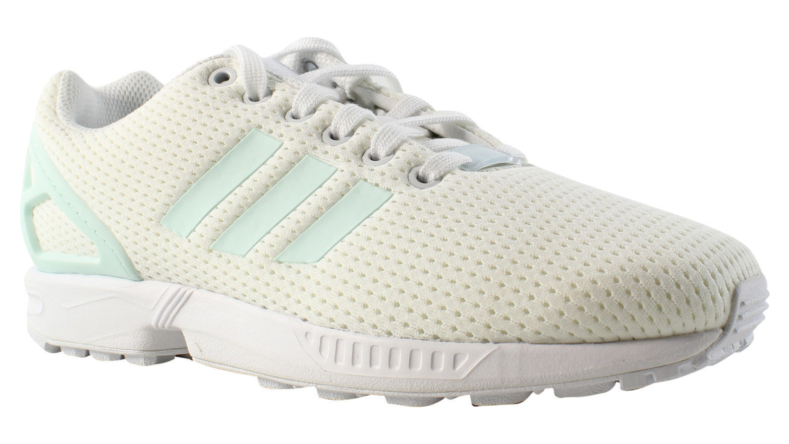 New Adidas Cross Training ZX Flux White Running shoes Size 7 & 7.5 BY9219
