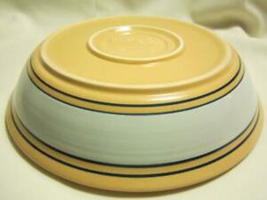 YELLOW-WARE-by-HOME-YELLOW-AND-BLUE-STONEWARE-NEVER-USED