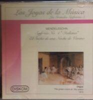 Las Joyas De La Musica - Mendelssohn - Las Grandes Sinfonias - 5 (cd)