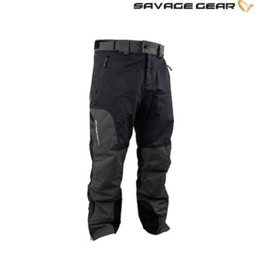 Angelsport Savage Gear Schwarz Savage Hose in 2-ton Farbe Design Größen L,XL,XXL