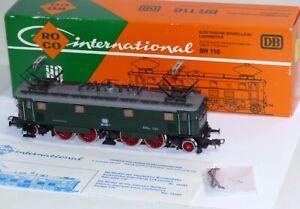 Roco-14143-E-Lok-BR-116-019-1-DB-H0-OVP-TOP-Zustand-AC-Wechselstrom