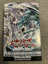structure Deck saga of Blue Eyes White Dragon alemán nuevo//en el embalaje original 3x Yu-Gi-Oh