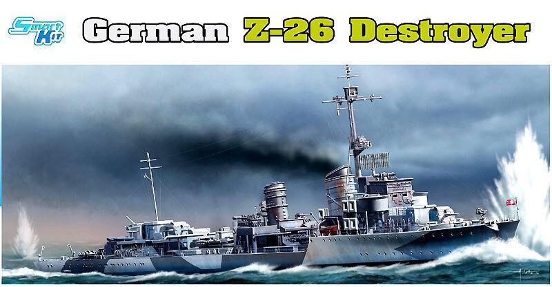 Dragon 1 3 50 1064   Deitscher Destroyer Z-26