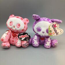 "Skelanimals Valentine Easter Lot 7"" Jack Bunny Rabbit Chungkee Panda Bear Tags"