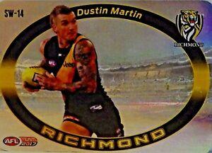 2017 AFL TEAMCOACH STAR WILDCARD SW-14 DUSTIN MARTIN RICHMOND