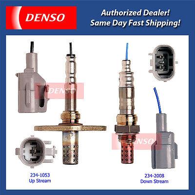 Denso O2 Oxygen Sensor Downstream /& Upstream New for Toyota 234-2008