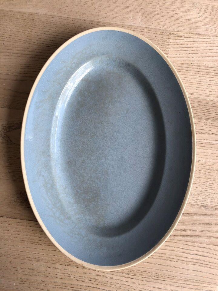 Porcelæn fad, Aluminia Sonja