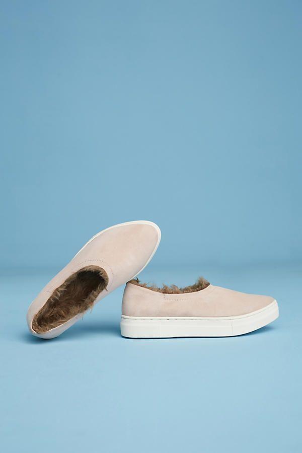NEW Anthropologie Lined By Seychelles Sierra Slip-On Sneakers Sz. 8.5