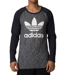 Caricamento dell'immagine in corso Uomo-Nuovi-Adidas-Originals-Logo- Trifoglio-T-Shirt-