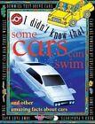 Some Cars Can Swim by Flowerpot Press (Hardback, 2014)