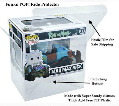 2 Funko POP Vynl .50mm Thick Plastic Box Protecters Cereal Ad Icon Mint CIB
