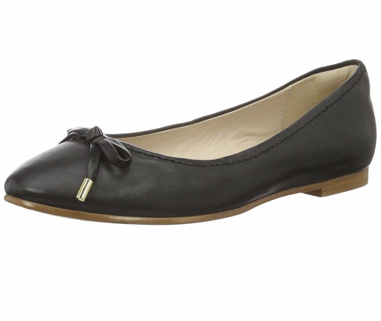 Clark'S Taglia Da Donna Ballerina Piatto Scarpe Di Pelle UK Taglia Clark'S 5D e6314d