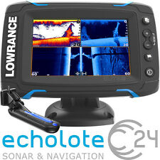 Lowrance Elite 5 Ti Touch TotalScan Geber Echolot Fischfinder GPS Kartenplotter