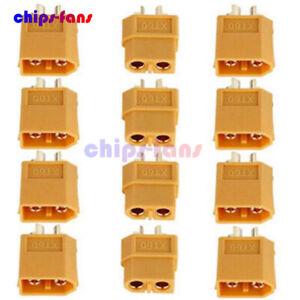 4-10-20pcs-XT60-Male-amp-Female-Bullet-Connectors-Plugs-for-RC-Lipo-Battery
