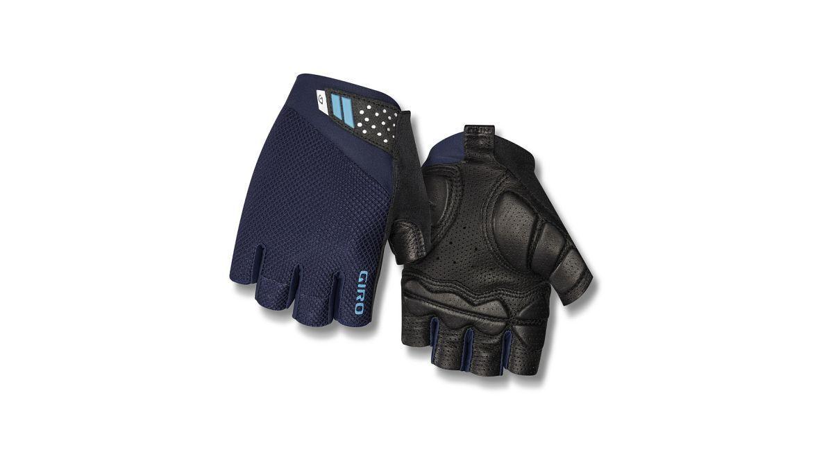 Giro Monaco II Gel Fahrrad Handschuhe kurz blau/schwarz 2019
